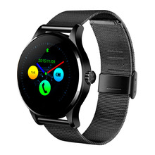 IPS with full anglel view 2.5D curved OGS touch screen smart watch statical and dynamical heart rate monitor andoid smart watch