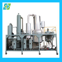 Vacuum Negative Pressure Waste Lubrication Engine Oil Purifier Machine To Base oil