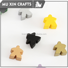High quality Customized playing pieces, wooden character for games