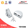 good quality stainless steel safe glass door lock