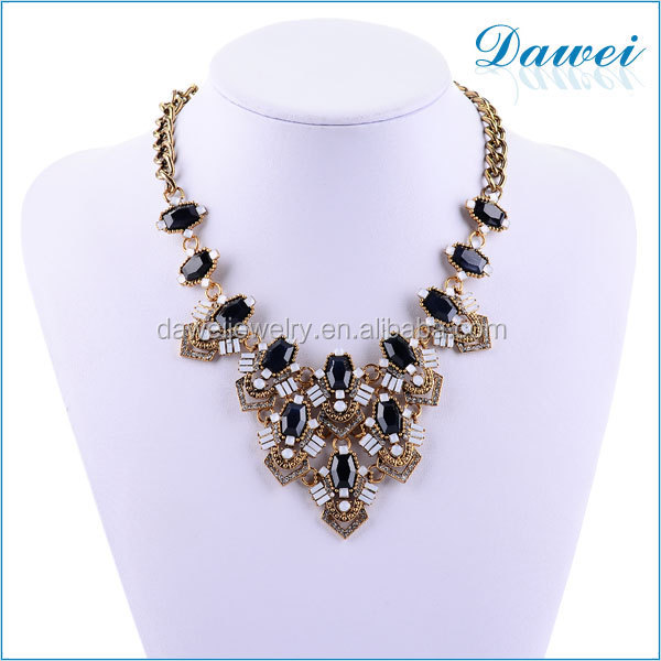 exquisite choker necklace with meaningful rhinestone jewelry for Poland