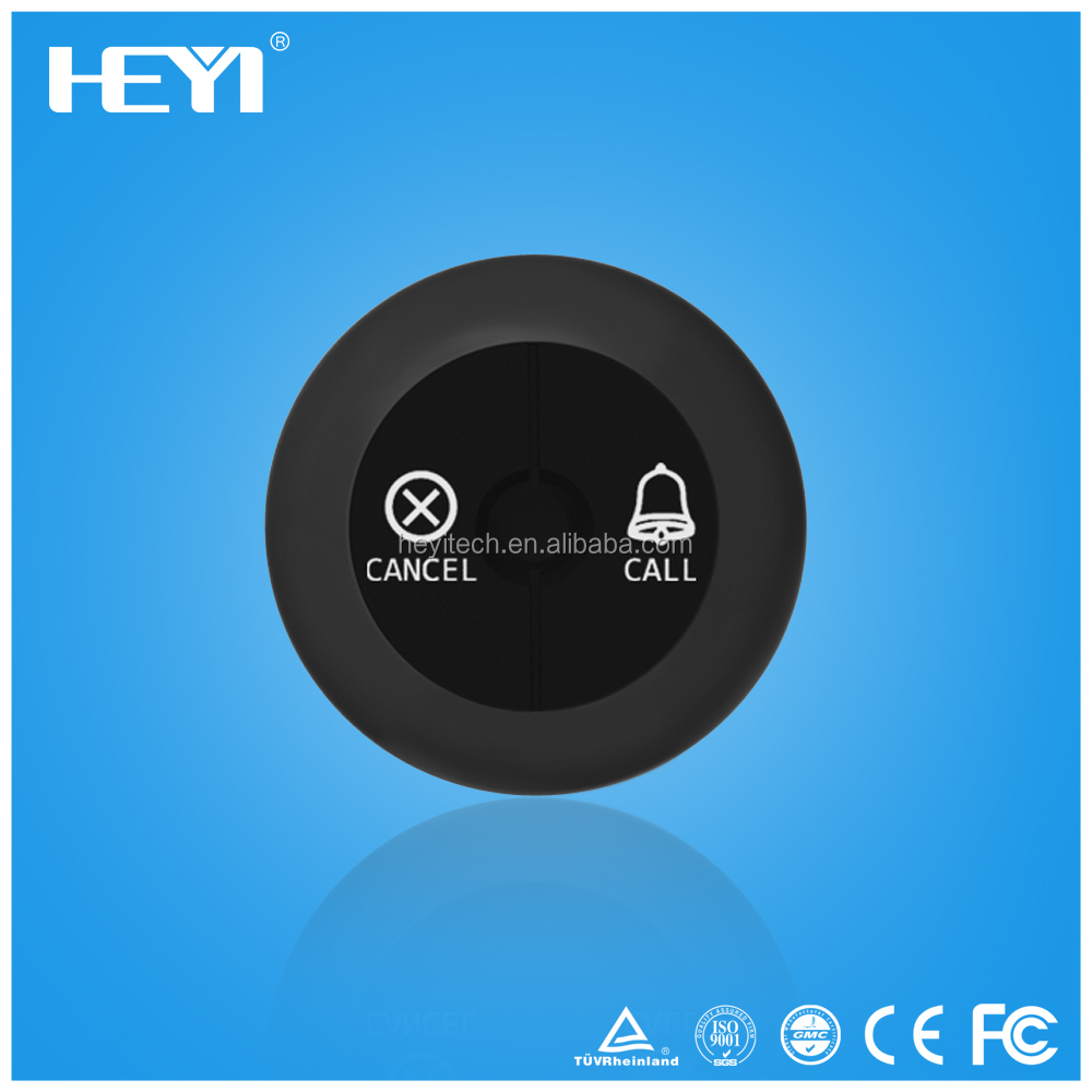 Wireless Calling Button Bell for Coffee Shop Restaurant Hotel