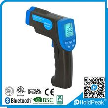 HoldPeak HP-880N laser digital infrared thermometer New design gun type digital non contact infrared thermometer -30~+420C