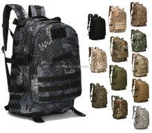 Kryptek Typhon Camouflage Canvas Backpacks Travel Bag Military Tactical Camo Rucksack Pack Hiking Backpack