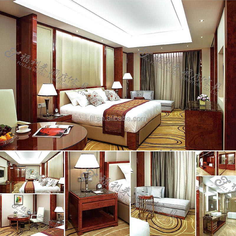 China Guangdong Foshan Classical Luxury 5 Star Hotel bedroom furniture for sale