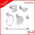 Chrome plated cheap bathroom accessories sets
