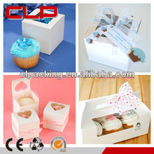 New cheap clear plastic cupcake packaging wholesale