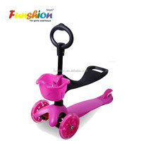 Best selling mini kick scooter ,3 in 1 mini kick scooter with three led wheel