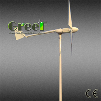 300w wind turbine for home use, 300w off grid wind turbine price, 300w battery charger ysytem wind alternator