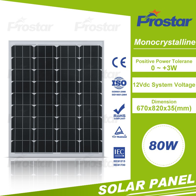 hot selling best price mono silicon 80w small solar panels for toys