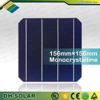 A Grade PV Solar cell Monocrystalline Solar Cell 6x6 for Home Solar System