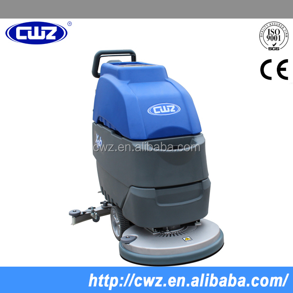 saving water floor scrubber for smaller eara