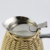 Hotel popular stainless steel vacuum flask coffee pot rattan wrapping (JSUH)