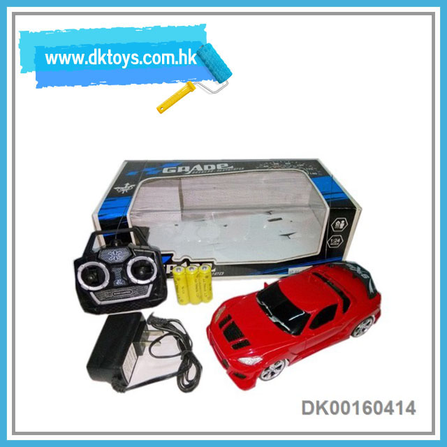 Hot selling 4 channel cheap rc car wth battery anc charger