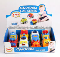 Cartoon friction power cheap taxi toy car series FC14503386