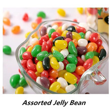 Bulk cola jelly bean with multi-fruit flavour
