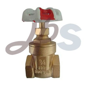 200WOG brass gate valve for water