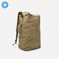 Large Capacity Travel Hiking Outdoor Canvas Vintage Backpack