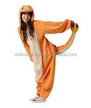 instyles New Pokemon Charmander Unisex Adult Animal Onesie Cosplay Costume Pajamas