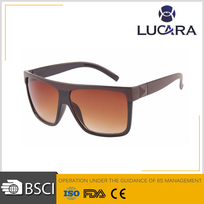 New Style Custom Pinhole glasses With Printed Logo On Lens Fashion Sunglass