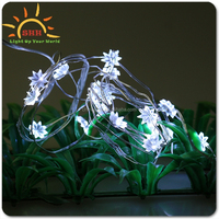 Outdoor Blossom Flower String Lights, Holiday decoration christmas led flower tree light