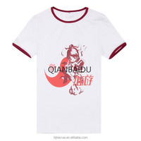 China factory direct Custom cheap polyester t-shirt women