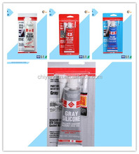 Transportation usage High temp blue RTV silicone adhesive 100% silicone rubber adhesive