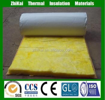 High temperature fiberglass insulation vinyl faced for High density fiberglass batt insulation