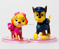 baby funny toy small dog pvc figure