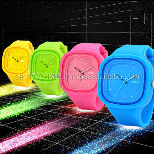 Waterproof TOP Quality Watches Custom Jelly watch Silicon Watch