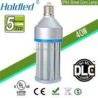 40w led corn bulb, dlc listed IP64 corn light replacement 150W CMH/CFL