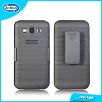 Top selling snap-on rubber belt clip holster backup case cover for samsung galaxy e5 hard case
