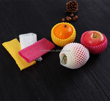 Polythene Expanded Foam Disposable Socks Sleeve Biodegradable Netting For Papaya Packaging