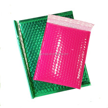6 x 10 Metallic Bubble Mailer/Wholesale pink metallic bubble mailer