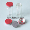 medicine bottle caps injection, rubber stopper, logo on flip top