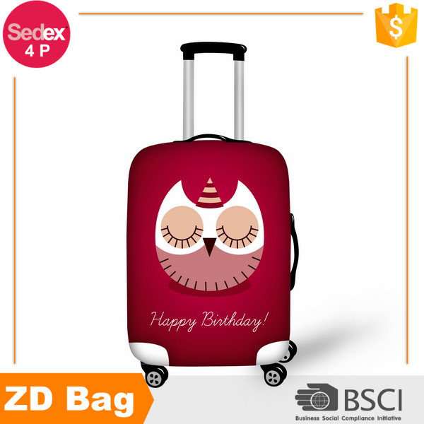Customized professional Elastic Luggage Cover for 22inch-26inch suitcase