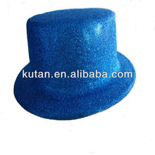 Custom Plastic Hat/Party Glitter PVC bowler Hat