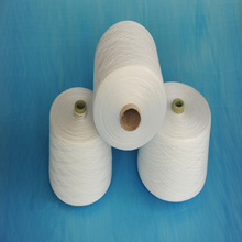 100% polyester slub yarn factory