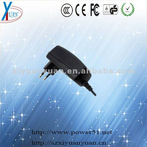 1500mA d cell battery charger of EU plug