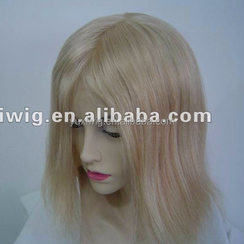 factory direct selling full lace wig blond