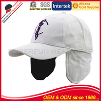 High quality ear flap winter golf cap hat