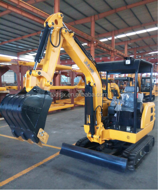 1.8ton mini crawler excavator/ mini excavator road construction machine