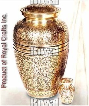 Engraved Cremation Urn