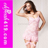 Wholesale white sexy beautiful girls sexy nighties