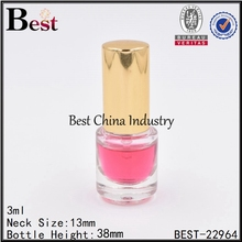 3 ml nice cut perfume bottle clear europe