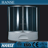 HS-SR012B fiberglass tub shower enclosures/ shower room european design/ waterproof shower room