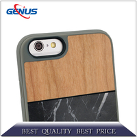High Quality Wooden Cell Phone Case customized pattern For iPhone 6