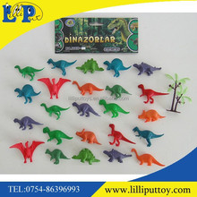 Soft Plastic Animal Toy Hand Painted PVC Dinosaur Figurine