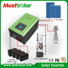 New designed inverter 5kw 220v off grid solar energy system for home electricity