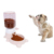 2019 New design  Durable and NO LEAKAGE Automatic pet bowl Dog  food dispenser Pet Step-on feeding Training feeder Tool for Dogs